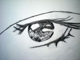 Skip beat eye by Kamafada5