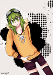 GUMI- Life Reset Button by xpockygirl