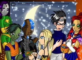TT Halloween by renee15 by teentitans