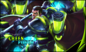 Green Power by StormShadownGFX