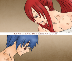 Erza and Jellal FT 237 by LynetteNS