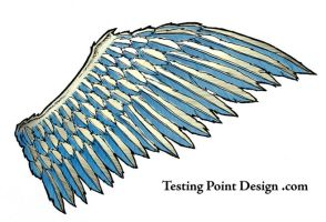 Wings Tattoo 1 by TestingPointDesign