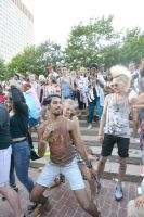 2015 Boston Pride Festival, the Bump and Grind 10 by Miss-Tbones