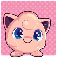039 Jigglypuff by Miss-Glitter