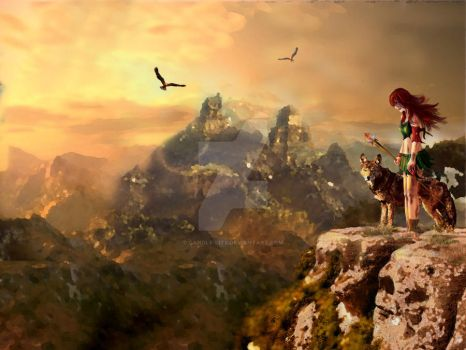 matte painting by candle-lite