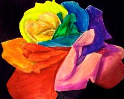 Rainbows and Roses by likesinkingships