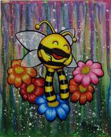 Happy bee by vitxy