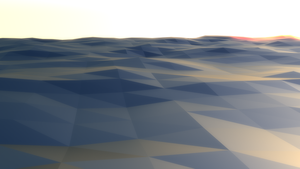 rendering a landscape by immortal217