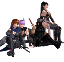 NG3RE - Hayabusa Team Relax Time by CaliburWarrior