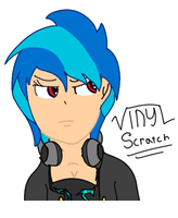 Vinyl Scratch Human - [Not finished] by xEmiLeahx
