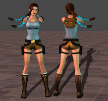 Lara classic w braids by tombraider4ever