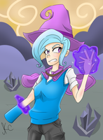 [MLP: FiM] The Fallen Trixie by dimensionalotaku