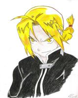 FMA: Ed Elric +color+ by StarAllise