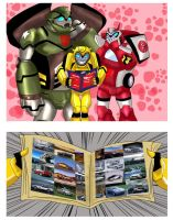 pervert  Autobots by drago-flame