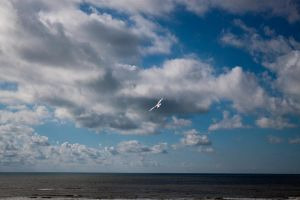 Sea and clouds stock by YmntleStock