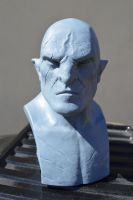 Azog bust by sculptoe