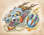 Oriental Dragon by EnricoGalli