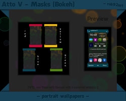 Mask -Bokeh- for Nokia by rob92ert