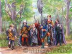 DragonLance: Knights of Balif by LinzArcher