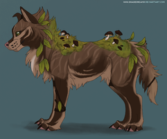 Mushroom canine adoptable #2 - Auction CLOSED by Nereiix