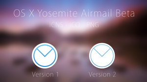 OS X Yosemite Airmail Beta Icons by Atopsy
