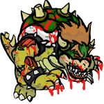Bowser Zombie by Blue-Neko-Girl