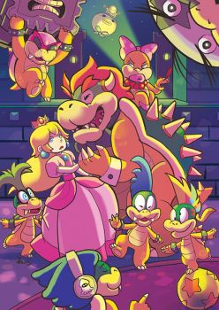 Bowser's Night out by oneoftwo