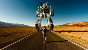 Man and Machine - Macross Robotech by brolyss4