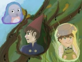 Over the Garden Wall by KuroRyu15