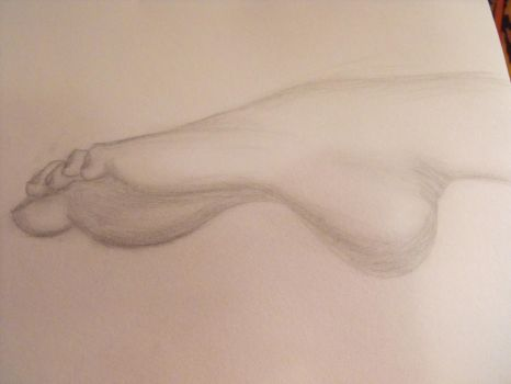 foot by claireleslie