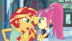 Sunset defends Me from Sour Sweet by EpicCartoonsFan