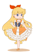 Sailor Venus by NatsumiFuu