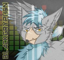 BlackGryph0n Badge (Textured) by Zanebow