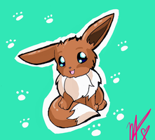 Eevee by WolffangComics