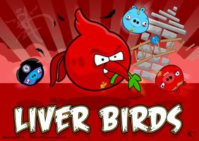 Angry Liver Birds by kitster29