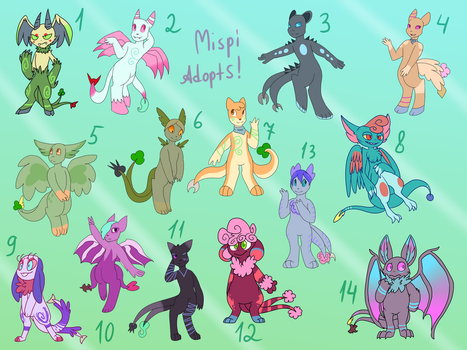 40 POINTS MISPI ADOPTS BATCH 2 (OPEN, READ DESC) by FeralRAD
