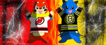 Devils vs Bruins! by DevilGator17