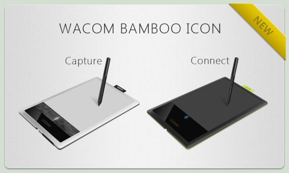 New Wacom Bamboo Icons by bisiobisio