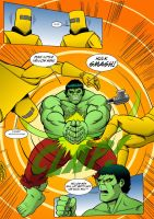 The Incredible Hulk: Red Alert Page 4 by MikeMcelwee
