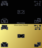 Silver Lines PSP Theme by LordPrevious