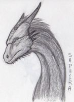 Saphira by aliengoddess