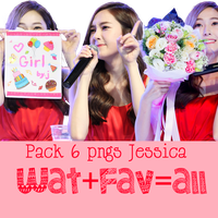 FREE PNG PACK JESSICA ( 7 PNGS BY PIZZ ) by pieloveall