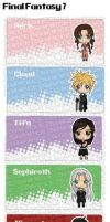 FF7 DS Sleeve Samples by DesignsByCorkyLunn