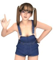 Hitomi's Overalls 3 by ThoraxeRMG