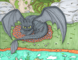 Toothless by Skuldier