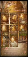 Autumn Fantasy backgrounds by moonchild-lj-stock