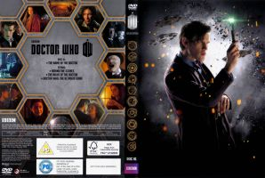 Doctor Who 50th Anniversary Box Set disc 1 cover. by JediSenshi