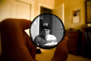 Me, in a lens... by killersnowman