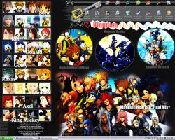 Kingdom Hearts Desktop by AsianNation