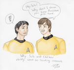 Russian and an Asian ST:TOS by Wixed001